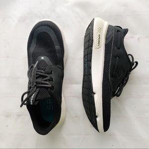 [Sperry] 7 seas 3 eye boat shoe sneaker black 6.5